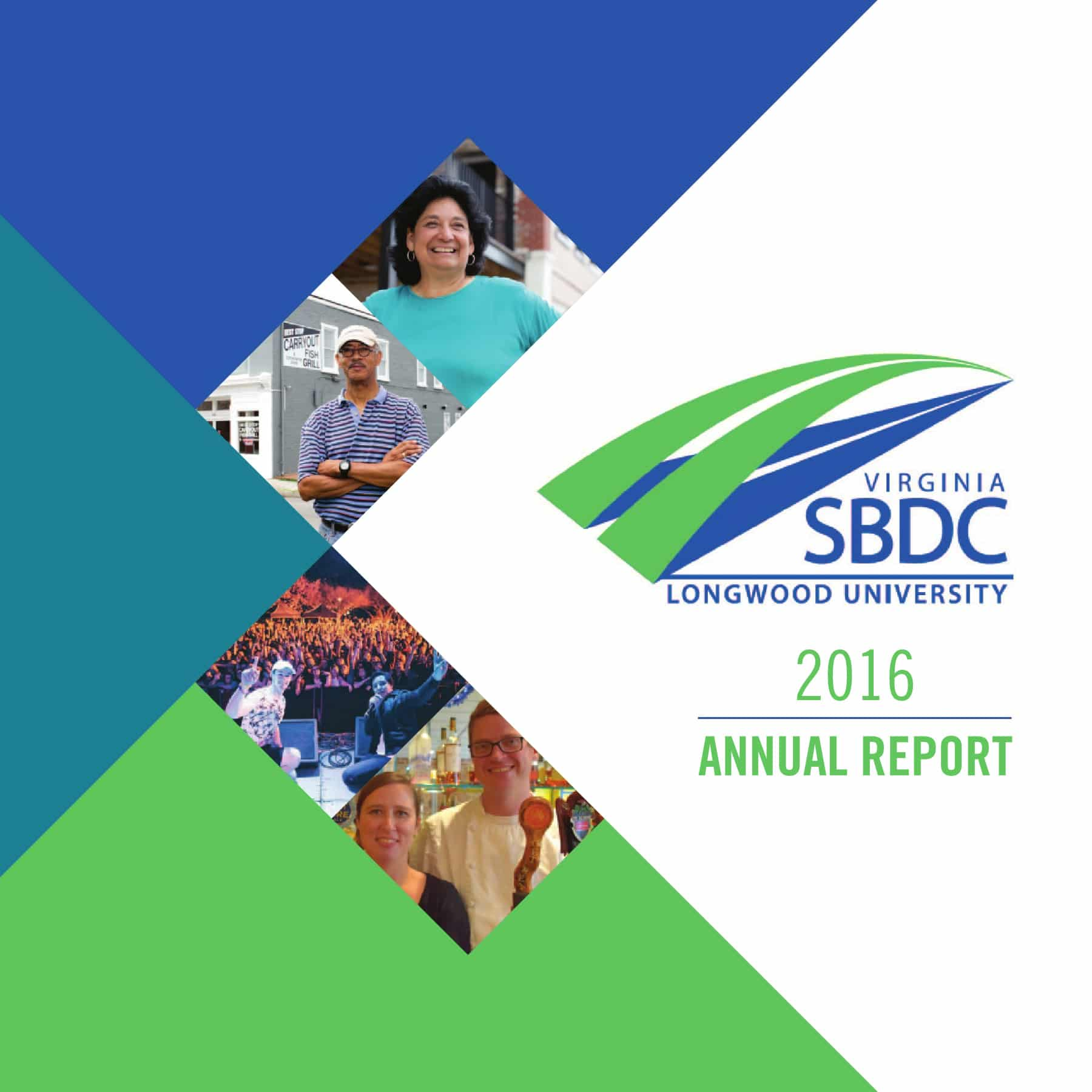 SBDC 2016 Annual Report cover