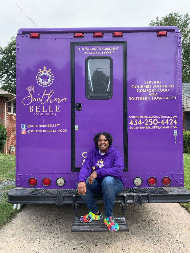 Shakiva Robinson on her food truck