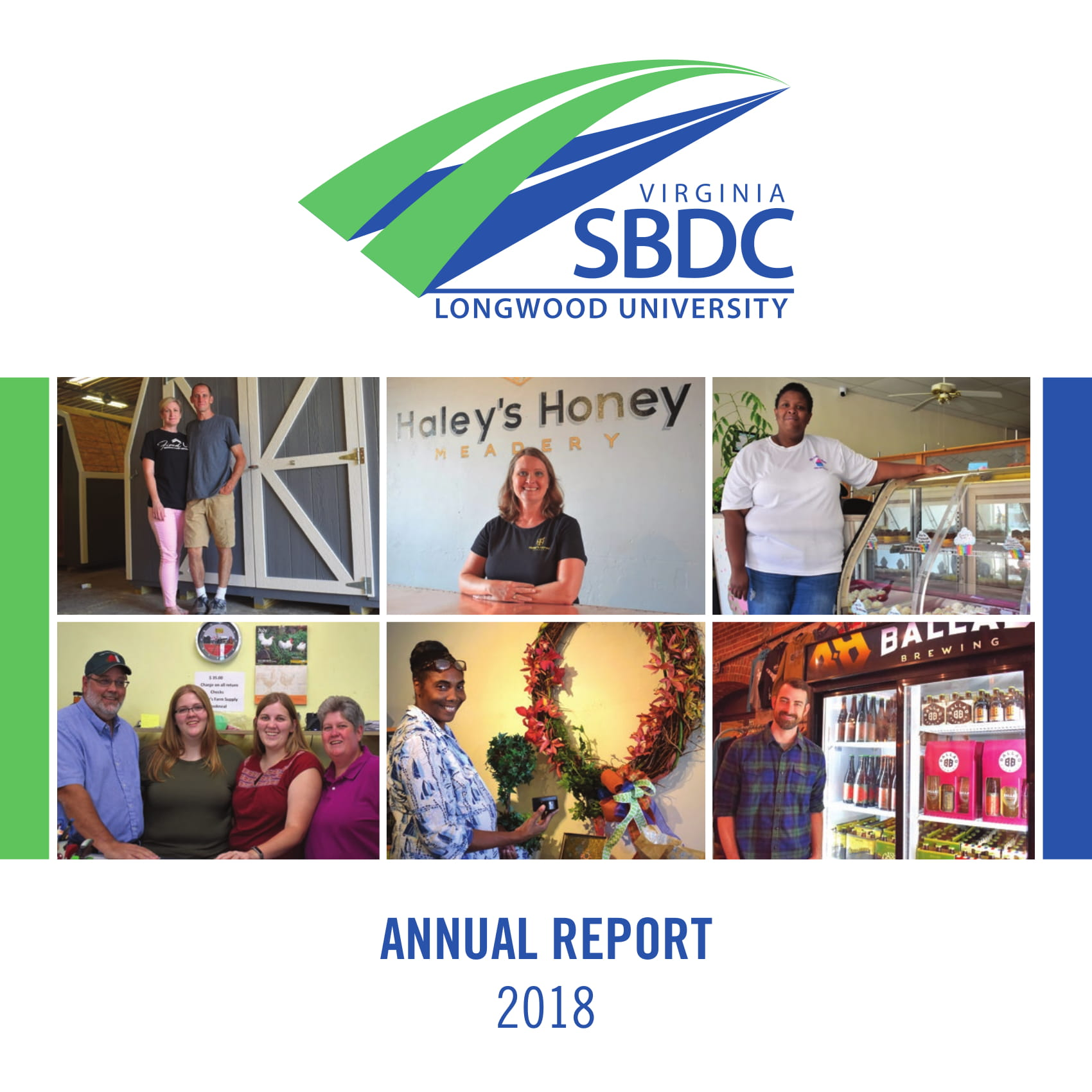 SBDC 2018 Annual Report cover